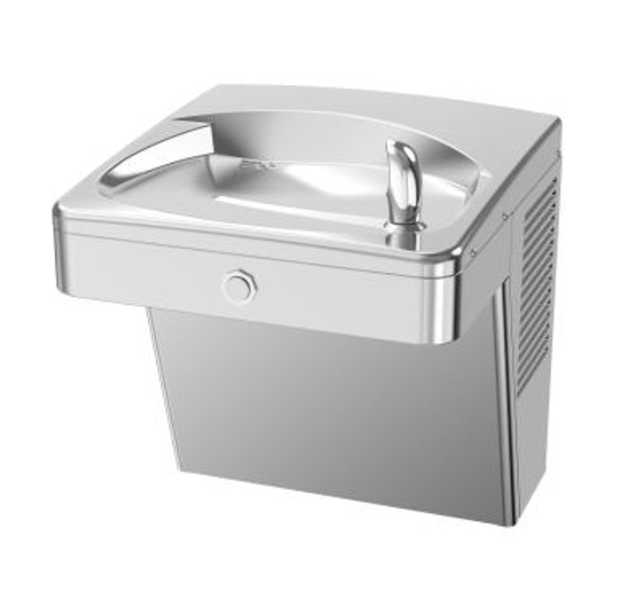 Oasis PGV8AC-14G Energy Efficient, Heavy Duty 14 Gauge Water Cooler, Refrigerated Drinking Fountain, Barrier Free, Vandal Resistant, 8 GPH, Non-Filtered, Brushed Stainless Steel
