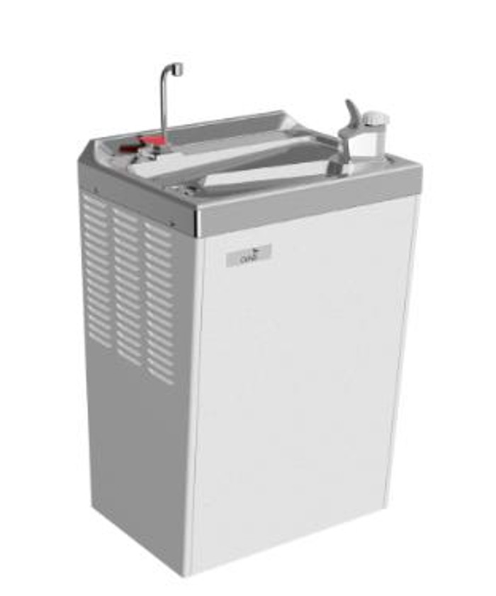 Oasis PLF14MH Hot 'N' Cold Water Cooler, Refrigerated Drinking Fountain, Wall Mounted, 14 GPH
