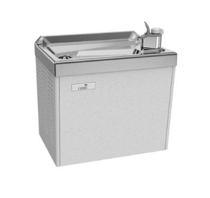 Oasis PLF4CM Water Cooler / Refrigerated Drinking Fountain, Wall Mounted Compact 4 GPH