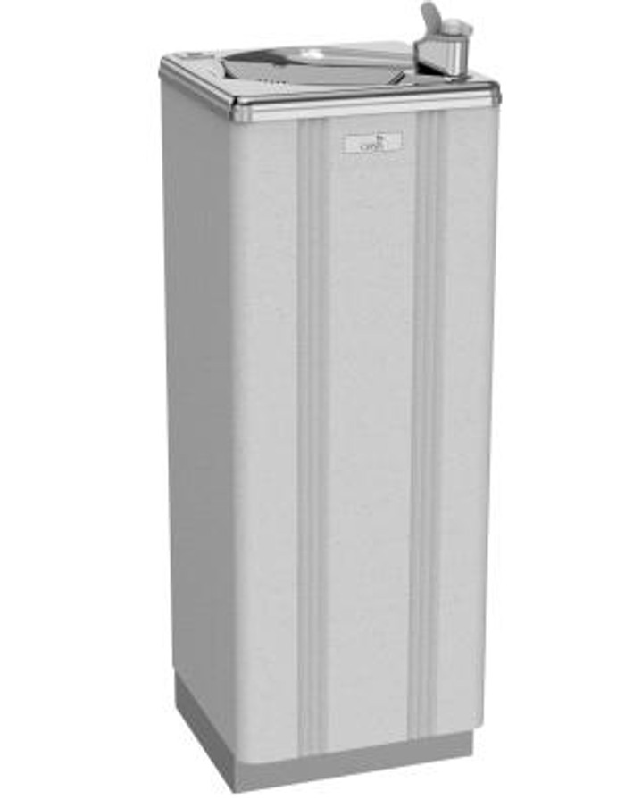 Oasis PLF7P - Free Standing, Heavy Duty, Ultra Quiet, Refrigerated Drinking Fountain, Dial-a-Drink Bubbler, 7 GPH