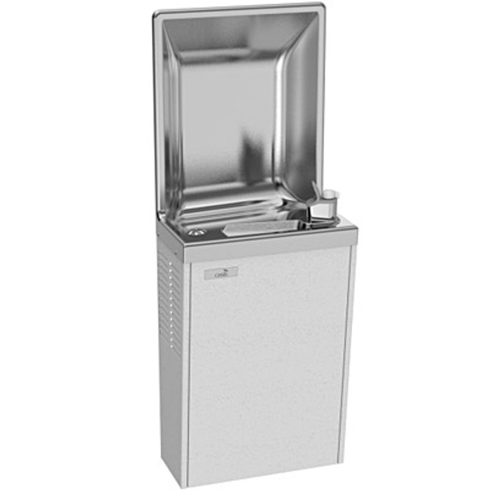 Oasis PLF8S Water Cooler, Refrigerated Drinking Fountain, Semi-Recessed 8 GPH