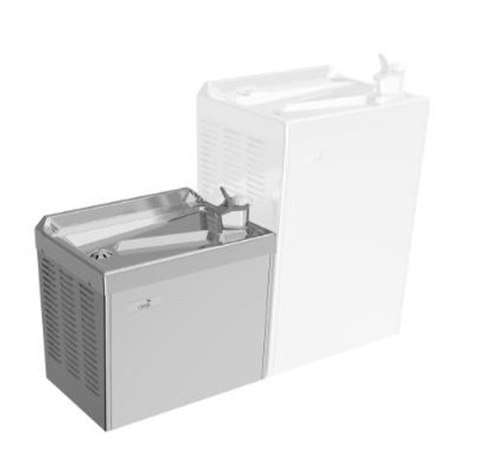 Oasis PLFCMSL On a Wall Compact Drinking Fountain, Add On Fountain Only (Non-refrigerated)