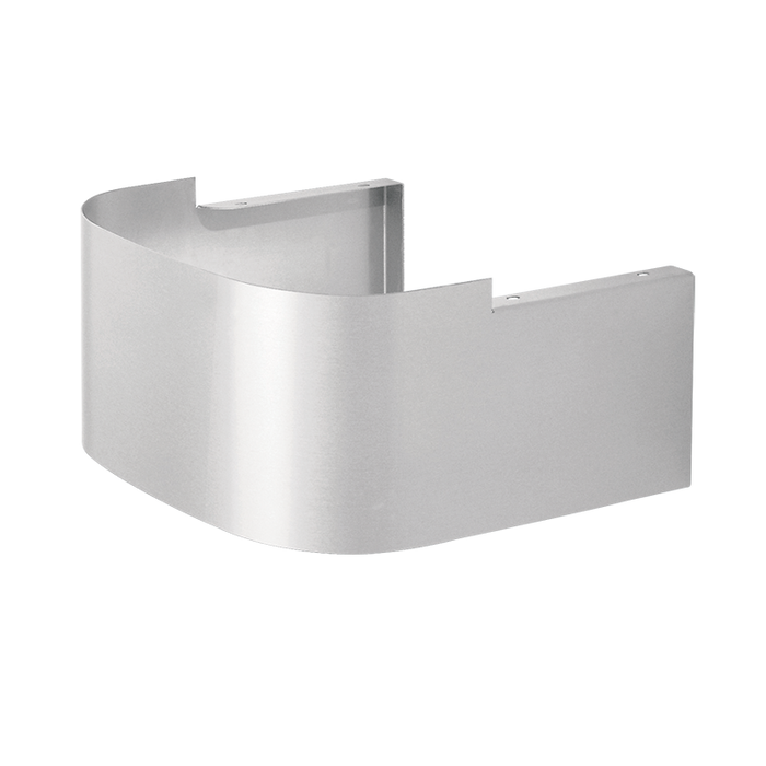 Haws SK1, Satin Finish Stainless Steel Cane Touch Skirt for use with 1119 Series Drinking Fountains