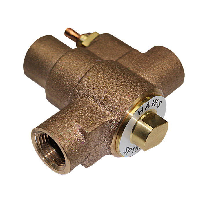 Haws SP158B, Freeze Protection Bleed Valve for Emergency Shower and Eyewash