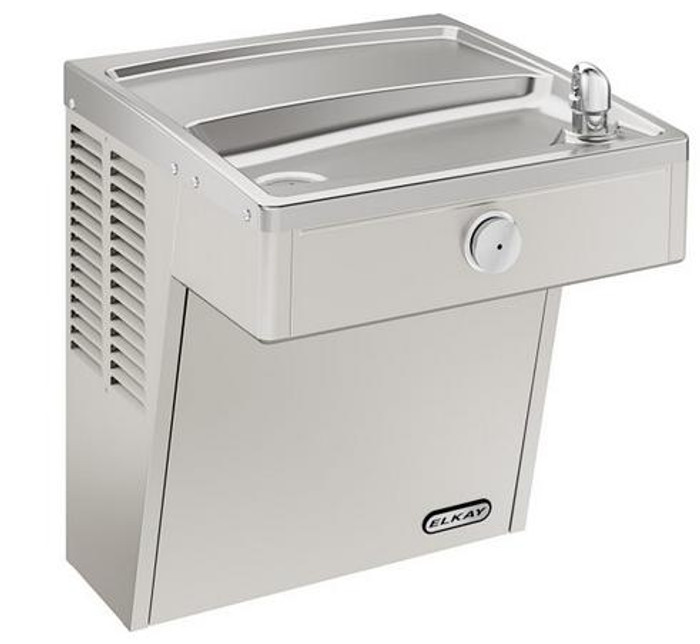 Elkay VRCDS Drinking Fountain, Vandal-Resistant, ADA, Wall Mounted, (Non-Refrigerated)