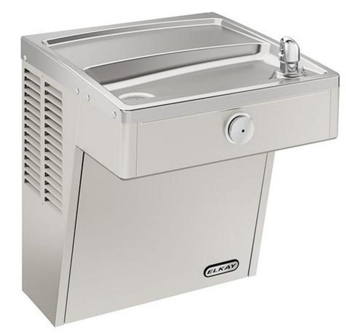 Elkay VRCFR8S Refrigerated Drinking Fountain, Vandal-Resistant, Freeze-Resistant, ADA, 8.0 GPH Water Cooler
