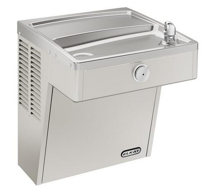 Elkay VRCFRDS Drinking Fountain, Vandal-Resistant, Freeze-Resistant, ADA, Wall Mounted, (Non-Refrigerated)