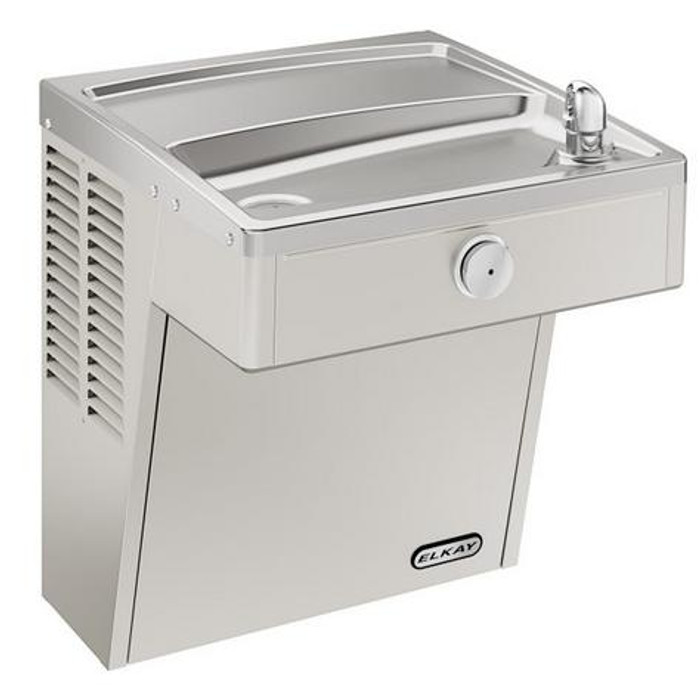 Elkay VRCSCDS Drinking Fountain, Vandal-Resistant, ADA, Wall Mounted, Includes Louver Screens, (Non-Refrigerated)