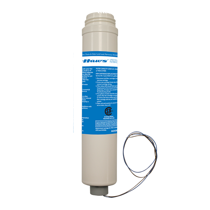 Haws 6423 Hydration By Haws Replacement Filter for use with 2000S and 2000SMS Series