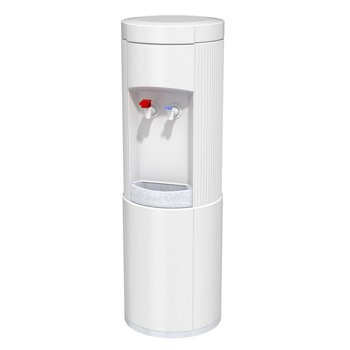 Oasis POU1RRHS 501415 Nautica Hot N Cold POU Water Cooler, Point of User Water Dispenser for Offices and Homes, White