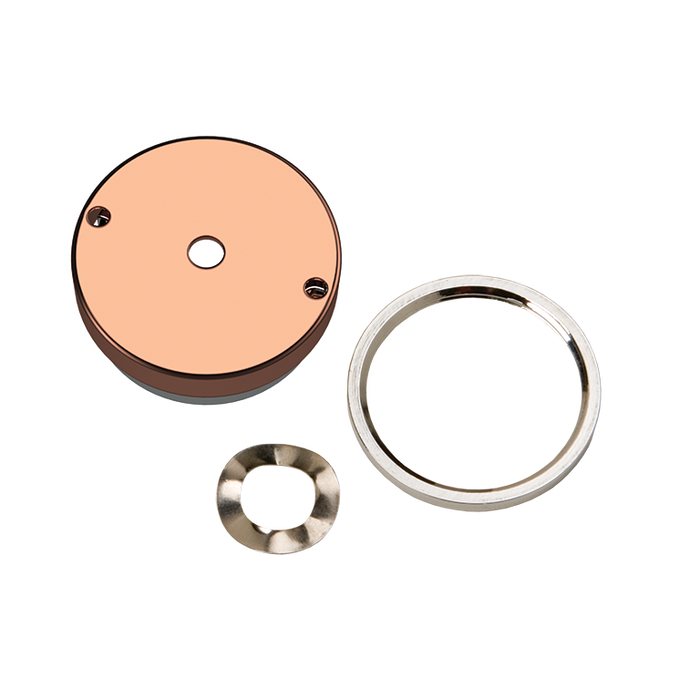 Haws PBA7C Push Button Assembly with Antimicrobial Copper Button for 5874PB Valve