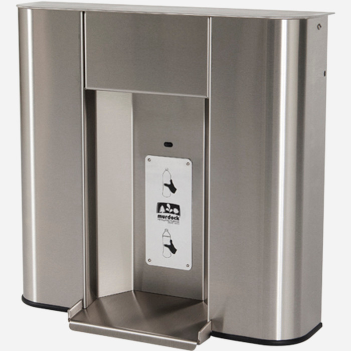 Murdock BF2S Bottle Filler, Deck Mounted, Sensor Operated, Stainless Steel, for A171 or A111 Series