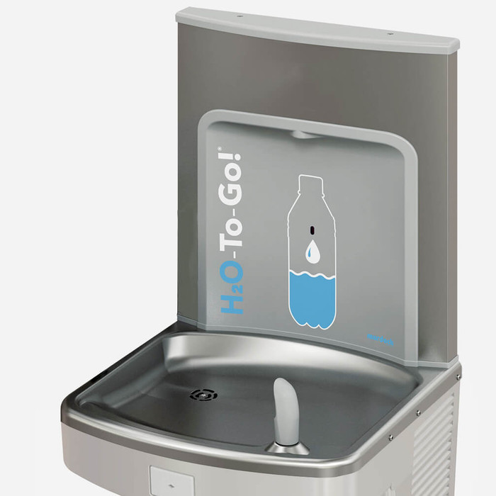 Murdock BF12R H2O to go! ADA Retro-Fit Bottle Filler, 1 GPM, Deck Mounted, Sensor Operated
