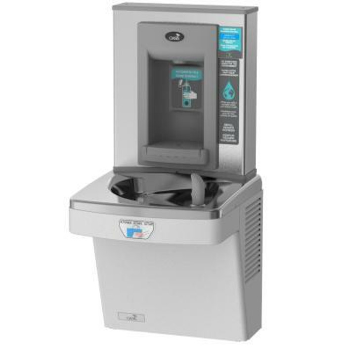 Oasis PGEBFT Contactless Drinking Fountain with Electronic Sports Bottle Filler, Sensor Activated, Touch Free, Non-Filtered, Non-Refrigerated