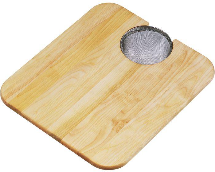 "Elkay CBS1316 Hardwood 14-1/2"" x 17"" x 3/4"" Cutting Board"