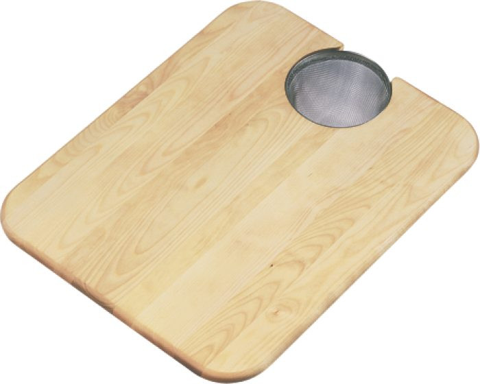 "Elkay CBS1418 Hardwood 15"" x 19"" x 3/4"" Cutting Board"