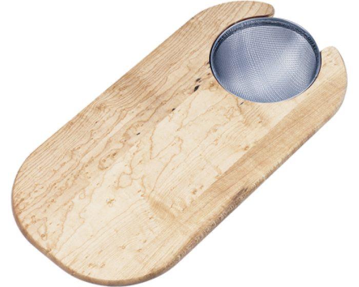 "Elkay CBS715 Hardwood 8-3/8"" x 16-13/16"" x 3/4"" Cutting Board"