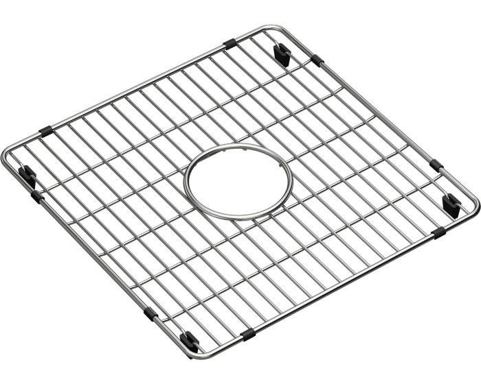 """Elkay CTXBG1414 Crosstown Stainless Steel 14-3/8"""" x 14-3/8"""" x 1-1/4"""" Bottom Grid"""