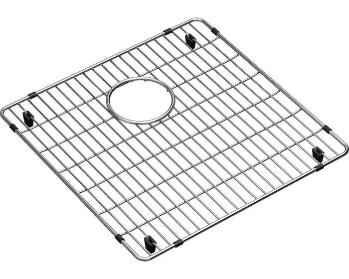 """Elkay CTXBG1616 Crosstown Stainless Steel 16-1/4"""" x 16-1/4"""" x 1-1/4"""" Bottom Grid"""
