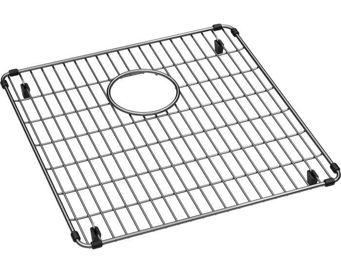 "Elkay CTXFBG1516 Crosstown Stainless Steel 15-5/8"" x 16-1/8"" x 1-1/4"" Bottom Grid"