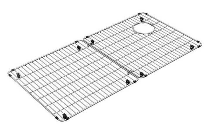 "Elkay CTXFBG3316 Crosstown Stainless Steel 33-1/8"" x 16-1/8"" x 1-1/4"" Bottom Grid"