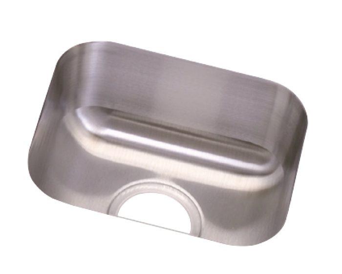 "Elkay DCFU1210 Dayton Stainless Steel 14-1/2"" x 12-1/2"" x 6-1/2"", Single Bowl Undermount Sink"