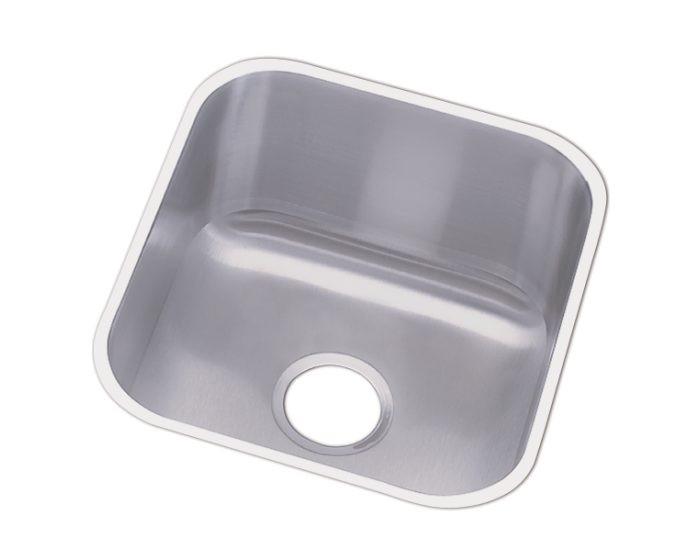 "Elkay DCFU1618 Dayton Stainless Steel 16-1/2"" x 18-1/4"" x 8"", Single Bowl Undermount Sink"