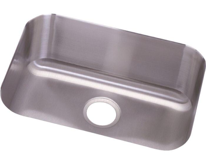 "Elkay DCFU2115 Dayton Stainless Steel 23-1/2"" x 18-1/4"" x 8"", Single Bowl Undermount Sink"