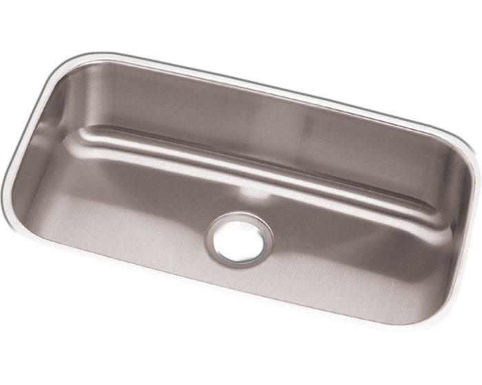 "Elkay DCFU2816 Dayton Stainless Steel 30-1/2"" x 18-1/4"" x 8"", Single Bowl Undermount Sink"