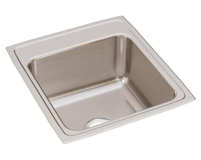 """Elkay DLR202210 Lustertone Stainless Steel 19-1/2"""" x 22"""" x 10-1/8"""", Single Bowl Drop-in Sink"""