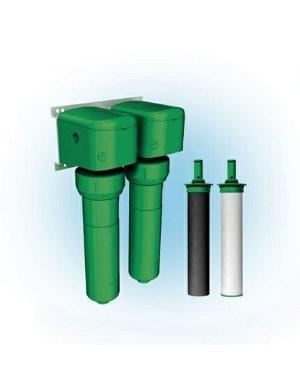 Oasis 037070-2620 Green Filter EZ Turn Two Stage Sediment & Carbon / Phosphate Filter System