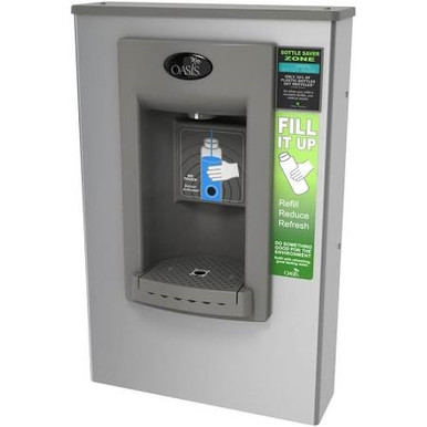 Oasis PWSMEBF Surface Mounted Electronic VersaFiller Sports Water Bottle Filler with Hands Free Acti