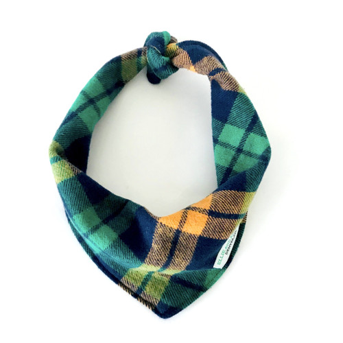 Boston Plaid Dog Bandana