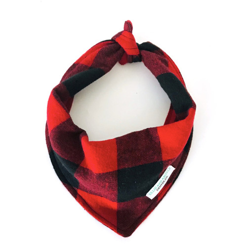 Buffalo Check Dog Bandana