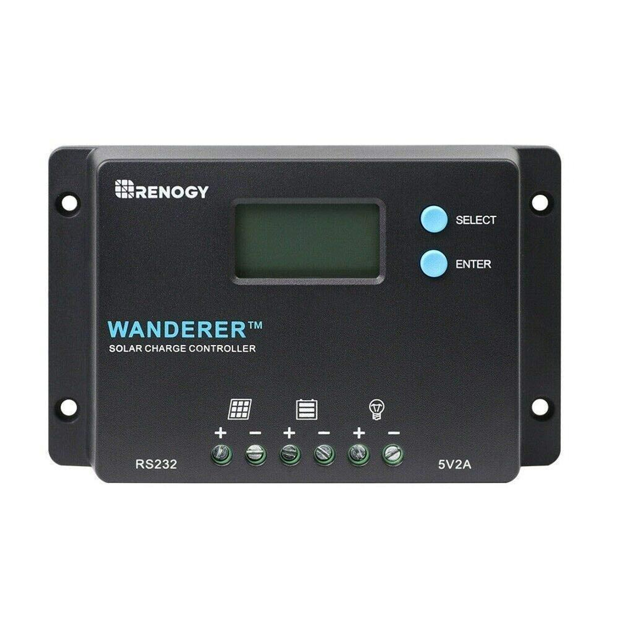 Renogy 10A Wanderer Charge Controller