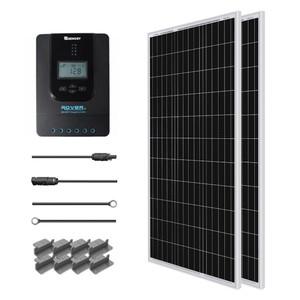 Renogy 200 Watt 12 Volt Solar Starter Kit w/ MPPT Charge Controller