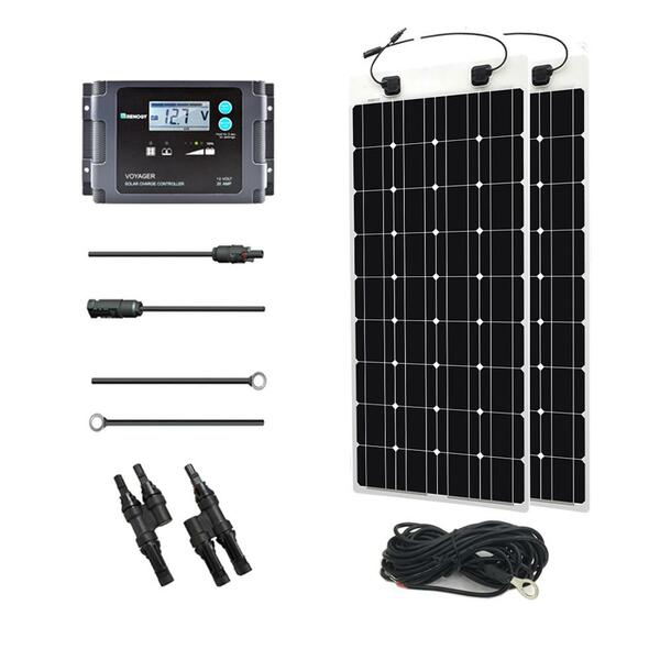Renogy 200 Watt 12 Volt Solar Marine Kit