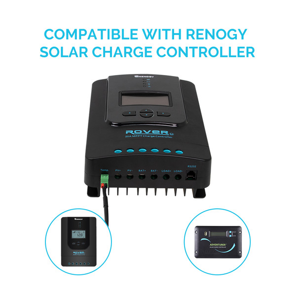 BATTERY TEMPERATURE SENSOR FOR RENOGY SOLAR CHARGE CONTROLLERS