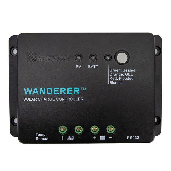 Renogy 30A Wanderer Charge Controller