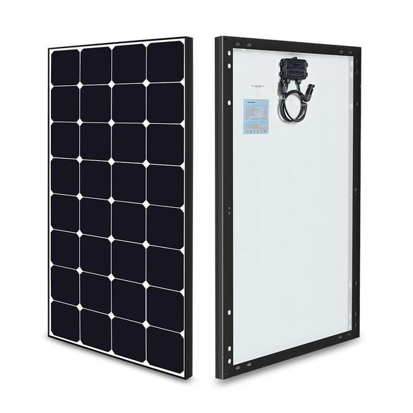 Renogy Eclipse - 100 Watt 12 Volt Monocrystalline Solar Panel