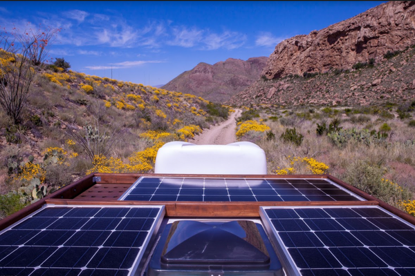 What to know about installing solar panels on your van