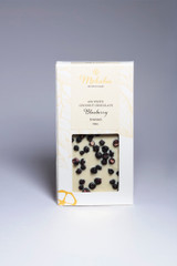 White Coconut Chocolate Blueberry Bar 40% Cacao