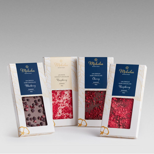 Artisan Dark Chocolate Fruit Inclusion Bar Gift Set