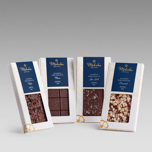 Dark Chocolate Savory Inclusion Bar Gift Set