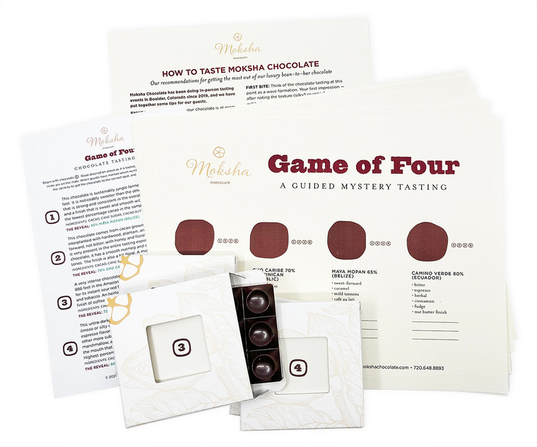 Host your own chocolate tasting!