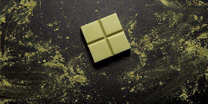 Vegan CBD Matcha White Chocolate