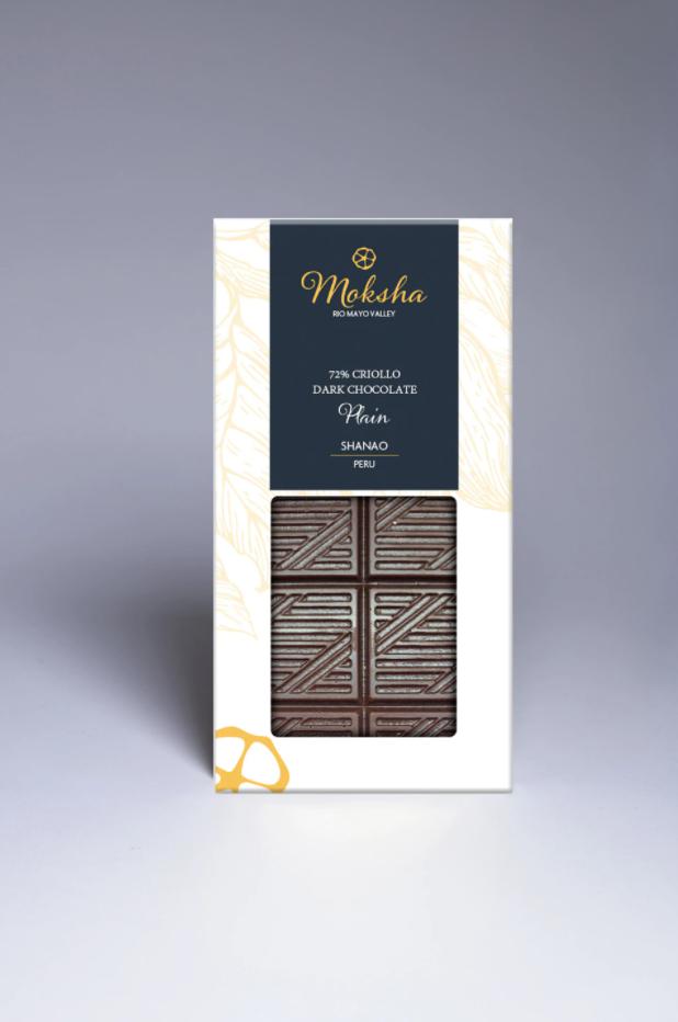 Moksha Chocolate - Dark Chocolate Plain