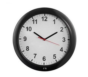 Wifi Hidden Camera Wall Clock