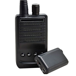 500 meter audio transmitter and recorder