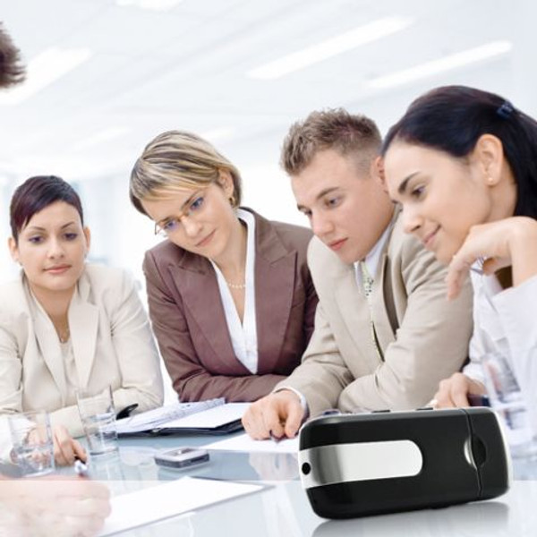 Business People USB Flash Disk Recording